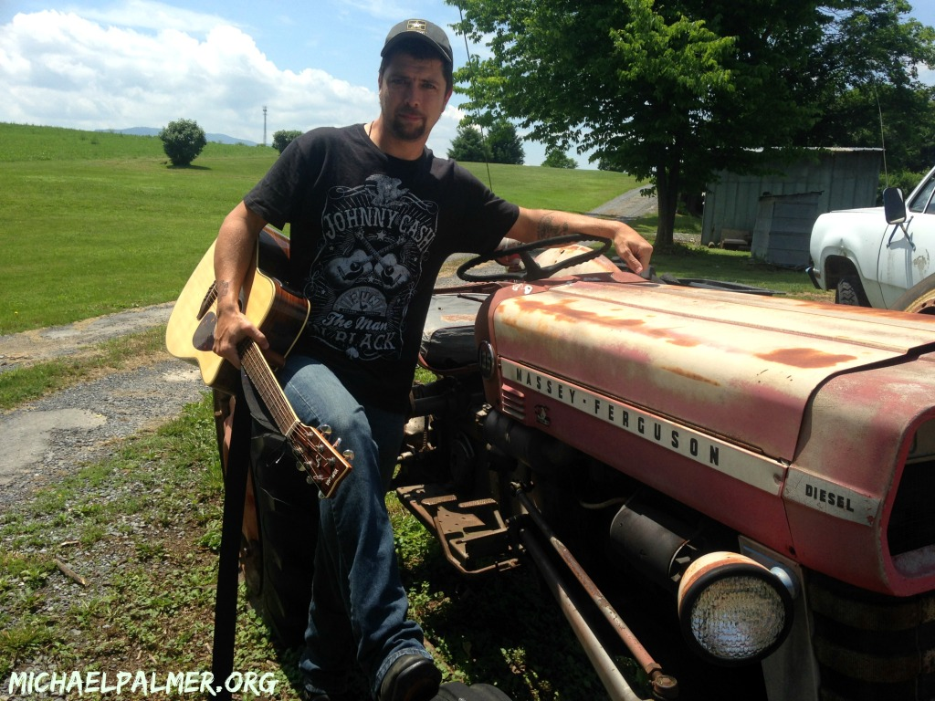 Michael Palmer vintage Tractor